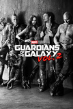 Guardians Of The Galaxy Vol. 2 - Black & White Teaser Affiche