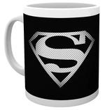 DC Comics - Superman Monotone Logo Mug Taza