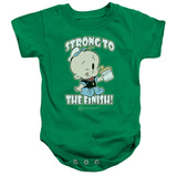 Infant: Popeye- Strong To The Finish Onesie Infant Onesie