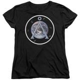 Womens: Stargate- Earth Chevron T-Shirt