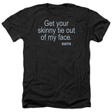 Suits- Skinny Tie T-Shirt
