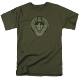 Stargate- Distressed Patch T-shirts