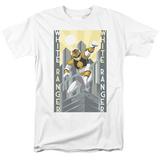 Power Rangers- White Ranger Deco T-shirts