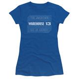 Juniors: Warehouse 13- Blueprint Logo T-Shirt