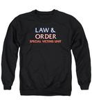 Crewneck Sweatshirt: Law & Order Svu- Logo T-shirts
