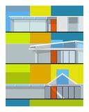 California Eichler Posters par Michael Murphy
