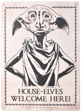 Harry Potter - Dobby House Elves Welcome Tin Sign