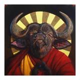 Holy Cow II Prints by Lucia Heffernan