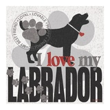 Labrador Art by Kathy Middlebrook