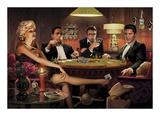 フォー・カード|Four of a Kind 高品質プリント : クリス・コンサニ