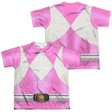Youth: Power Rangers- Pink Ranger (Front/Back) T-shirts