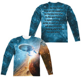 Long Sleeve: Star Trek- Final Frontier (Front/Back) Sublimated