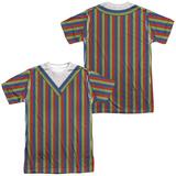 Sesame Street- Bert Costume Tee (Front/Back) Shirt
