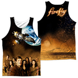 Tank Top: Firefly- Cast Poster (Front/Back) Tank Top