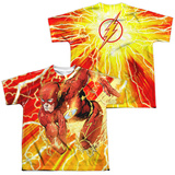 Youth: The Flash- Lightning Surge (Front/Back) T-shirts