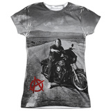 Juniors: Sons Of Anarchy- Open Road Womens Sublimated