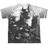 Youth: Batman Arkham Knight- Arkham Contrast Shirts