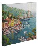 Portofino Gallery Wrapped Canvas by Thomas Kinkade