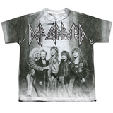 Youth: Def Leppard- The Band T-shirts