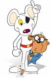 Danger Mouse and Penfold - Mini Cutout Included Pappfigurer