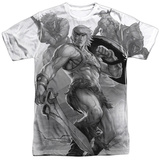 Masters Of The Universe- He-Man Action Collage Shirt