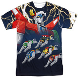 Voltron- Five Are One T-shirts