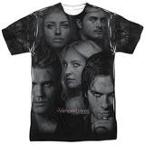 Vampire Diaries- Character Collage T-Shirt