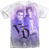 Vampire Diaries- Young Stefan And Damon T-shirts