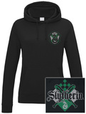 Womens: Harry Potter - House Slytherin Pullover con cappuccio