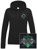 Womens: Harry Potter - House Slytherin Hoodie (over het hoofd)