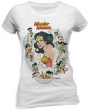 DC Originals - Wonder Woman Vintage Skjorta