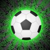 Abstract Grunge Soccer. Illustration Plakater av  Julydfg