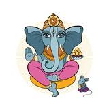 Ganesha and Mouse Arte por Katya Ulitina