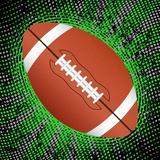 Abstract Grunge American Football. Illustration Posters av  Julydfg