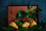 Autumn Still Life with Pears Reproduction photographique par Dina Belenko