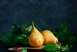 Still Life with Autumn Pears Reproduction photographique par Dina Belenko