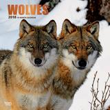 Wolves - 2018 Calendar Calendriers