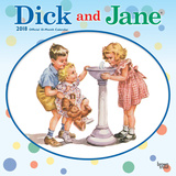 Dick and Jane - 2018 Calendar Kalenders