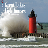 Great Lakes Lighthouses, - 2018 Calendar Calendriers
