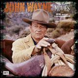 John Wayne in the Movies - 2018 Calendar Calendriers