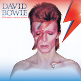 David Bowie - 2018 Calendar Kalenders