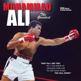 Muhammad Ali - 2018 Calendar Calendriers