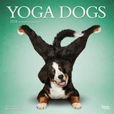 Yoga Dogs - 2018 Calendar Calendários