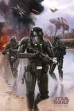 Star Wars Rogue One - Death Trooper Beach Plakater