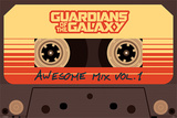 Guardians Of The Galaxy - Awesome Mix Vol. 1 Affiche
