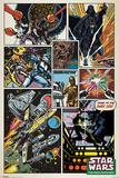 Star Wars - Retro Comic Kunstdrucke