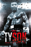 Mike Tyson - Boxing Record Kunstdrucke