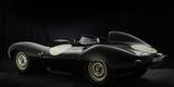 Jaguar D type 1956 Valokuvavedos tekijänä Simon Clay