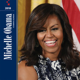 First Lady Michelle Obama - 2018 Calendar Calendriers