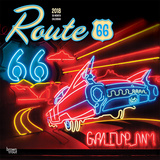 Route 66 18-Month - 2018 Calendar Calendarios